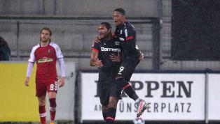 Bayer Leverkusen gesellt sich zur Führungsgruppe der Bundesliga. Am Sonntag bezwang die Werkself den SC Freiburg mit 4:2 und bewies dabei Charakter. Tore:...