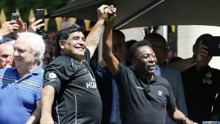 Diego Maradona and Pele are widely considered to be two of the greatest players ever to lace on a pair of boots, with the duo enthralling audiences around the...