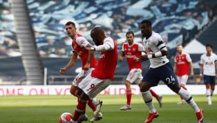 Arsenal mendapatkan kekalahan 1-2 dari Tottenham Hotspur dalam pertandingan pekan ke-35 Liga Inggris 2019/20 di Tottenham Hotspur Stadium pada Minggu (12/7)....