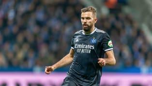 Lukas Hinterseer steht beim HSV auf der Verkaufsliste. Der Stürmer scheint sich aber zunächst unter dem neuen Cheftrainer Daniel Thioune beweisen zu wollen....
