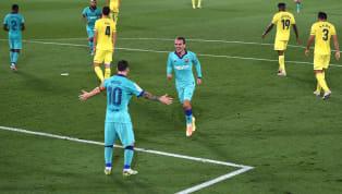 Mới đây Antoine Griezmann đã ghi một bàn thắng đẹp mắt vào lưới Villarreal giống hệt siêu phẩm của Lionel Messi mùa trước. Griezmann ghi bà với một cú thả...