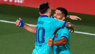 El delantero uruguayo explicó qué podría ser de su excompañero y amigo, a quien resta un año de contrato con el conjunto azulgrana, en el programa 90 minutos...