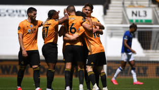 word A ruthless Wolves comfortably beat Everton 3-0 at Molineux on Sunday afternoon. The game's first big chance fell to the hosts, as Daniel Podence's low...