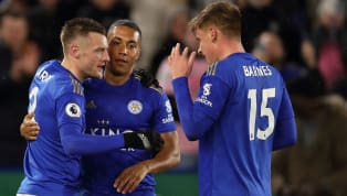 illa A brace each from the returning Jamie Vardy and winger Harvey Barnes put Aston Villa to the sword ​as Leicester ran out 4-0 winners in the Premier League...