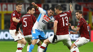 uest Napoli's top four ambitions suffered another setback on Saturday evening, as the visitors were held to a disappointing 1-1 draw by struggling Milan. I...