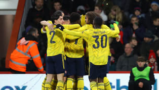 ound ​Arsenal's youngsters led the side to an impressive 2-1 victory over Bournemouth in the fourth round of the FA Cup, setting up a tie with Portsmouth on...