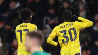 20 phút sau bàn mở tỉ số vào lưới Bournemouth, Bukayo Saka lại kiến tạo cho Eddie Nketiah nhân đôi cách biệt cho Arsenal. Saka có pha kiến tạo tinh tế để...