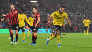 Mikel Arteta's first game in charge ​of Arsenal ended all square as Eddie Howe's Bournemouth held the Gunners to a 1-1 draw on Boxing Day.  The game started...