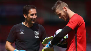 Manchester United goalkeeping coach Emilio Alvarez is currently playing a key role in helping the club secure a new deal for David de Gea, with the...