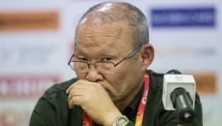 Timnas Vietnam meraih kemenangan penting di leg pertama semifinalAFF Suzuki Cup 2018melawan Timnas Filipina di Stadion Panaad, Bacolod. Vietnam menang 2-1...