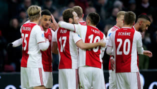 La reacción de los jugadores del Ajax al enterarse que enfrentarán al Real Madrid en octavos
