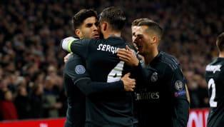 Real Madridberhasil pulang dengan kemenangan penting sekaligus menginjakkan satu kakinya di babak perempat final saat bertandang ke Johan Cruijff Arena,...