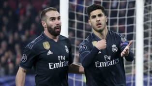 Real Madrid manager Santiago Solari hailed Marco Asensio and his side's fighting spirit to take earn a win overan 'aggressive'Ajax on Wednesday night in...