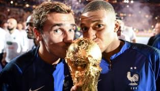 ​Kylian Mbappe got quite a weird comment ​from compatriot and best friend Antoine Griezmann on his Instagram post in which the PSG man was dressed in red and...