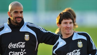 p; Messi A two-time Scudetto winner, Juan Sebastián Veron was one of the stars of Serie A in his generation, with his performances at Sampdoria, Parma, Lazio...