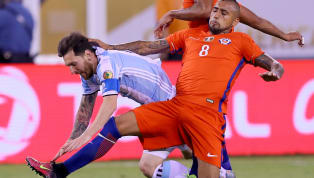 ​Bayern Munich star Arturo Vidal is one of the most high-profile names missing from this summers FIFA World Cup, with his nation Chile, failing to qualify....