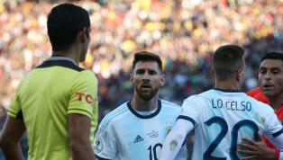 Với những lời cáo buộc Liên đoàn bóng đá Nam Mỹ - CONMEBOLgian lận và thiên vị tuyển Brazil, Lionel Messiđối diện với nguy cơ nhận án phạt cấm thi đấu quốc...