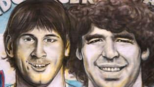 Es el eterno debate. LionelMessio Diego Maradona. Las nuevas generaciones suelen elegir a la Pulga y los que vieron al Diego tienden a quedarse con...