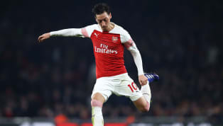 ​Former Arsenal striker Ian Wright has praised Mesut Ozil for the technique that he used to open the scoring for the Gunners against Bournemouth in the...
