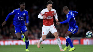 back Arsenal emerged 3-1 winners against Leicester City at home on Monday night after going down 1-0 in the first half.  At one point, it looked like the...