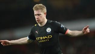Một đêm ác mộng của Arsenal ngay trên chính thánh địa Emirates, họ bị Manchester City sút tung lưới đến 3 lần, riêngKevin De Bruyne góp dấu giày vào cả 3...