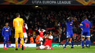 Arsenal were dumped out of the Europa League after an extra-time loss to Olympiacos in the second leg of their Europa League Round of 32 fixture. The Gunners...