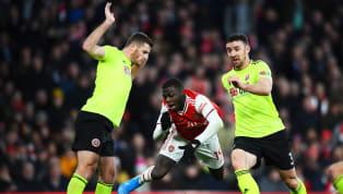 Arsenal bị bỏ qua một quả penalty khi Nicolas Pepe bị phạm lỗi trong vòng cấm ở trận hòa Sheffield United tối 18.1 vừa qua. Mikel Arteta bất mãn với VAR...