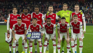 FC Arsenal The Bhoy makes his @premierleague debut 🙌 🏴 @kierantierney1 🇨🇮 #PepeIsHere 🇫🇷 @LacazetteAlex 🇬🇦 @Aubameyang7#ARSCRY — Arsenal (@Arsenal)...