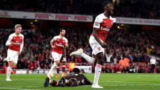 ates Unai Emery's first taste of the English Football League Cup ended triumphantly as Arsenal took apart their in-form Championship opposition Brentford at...