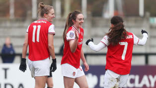 ​Arsenal moved to the top of the Women's Super League on Sunday after recording the league's biggest ever win when they thrashed Bristol City 11-1. ...