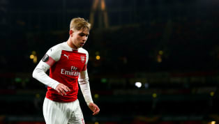 Arsenal Starlet Emile Smith-Rowe Ruled Out of Thursday's Europa League Clash Due to Injury