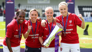 erby ​Arsenal finished the 2018/19 Women's Super League in style on the final day of the season by beating nearest rivals Manchester City ahead of lifting the...