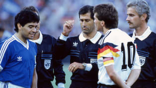 ​Edgardo Codesal, who refereed the 1990 World Cup final, has claimed Diego Maradona was one of the worst persons he knew and that he could have sent off the...