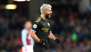 That Sergio Agúero, eh? He might be in his 30s, he might be looking over his shoulder atinjuries beginning to catch up with him, and he might have one of...