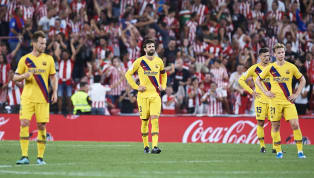 Loss ​Barcelona stuttered to a shock defeat in their opening La Liga clash of the season, going down 1-0 to Athletic Club after a fabulous late overhead kick...