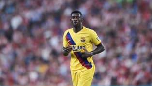 ​Barcelona have revealed Ousmane Dembele will be out for around five weeks after the France international suffered a strain to his left hamstring. Dembele...