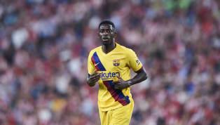 Barcelona harus kehilangan Ousmane Dembele selama lima pekan akibat cedera hamstring yang dideritanya dalam kekalahan 0-1 dari Athletic Bilbao di San Mames...