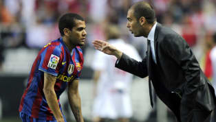 Paris Saint-Germain defender Dani Alves is reportedly eager to reunite with Pep Guardiola before he retires, amid the Catalan coach's quest to sign a...