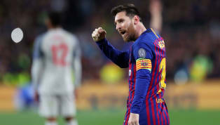There's being humble, and then there's Lionel Messi. Barca's number ten scored twice as his side hammered Liverpool 3-0 in the Champions League semi-final...