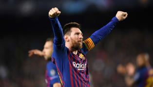 14 years to the day since his first goal at senior level,Lionel Messi hit strikes 599 and 600 for Barcelona, as the Catalans saw off Liverpool in the...