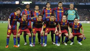 Este es para mí el mejor XI de la historia del Barcelona en una temporada. A pesar de que he tenido dudas con el del Sextete de 2009 y el del triplete de 2015...
