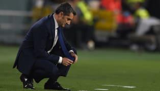 Ernesto Valverde sah sich nach den Pleiten in Champions League und Pokal starker Kritik ausgesetzt. Eine Zukunft beimFC Barcelonaschien der Übungsleiter...