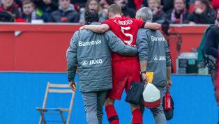 Bayer 04 Leverkusenmuss nach dem 4:0-Sieggegen Eintracht Frankfurt am Samstag einen bitteren Ausfall verkraften. Dem Verein zufolge hat sich Sven Bender...