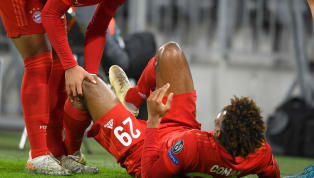 ​Kingsley Coman was forced off with what looked like a serious knee injury during Bayern Munich's Champions League clash with Tottenham at the Allianz Arena....
