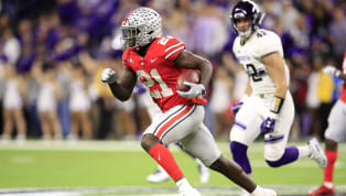 "​Cover Photo: Getty Images Parris Campbell Hand Size, Height and Weight Player: Parris Campbell Position: Wide Receiver Hand Size: 9 1/2"" Height: 5' 11⅞""..."