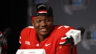 Boom! ​Dwayne Haskins has a new home in the NFL and is now off the board.    The Redskins have used the 15th pick (and the Giants' stupidity) in the first...