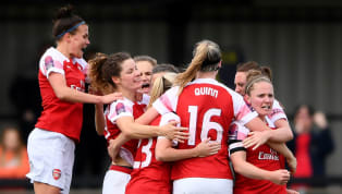 ​Arsenal took a huge step towards their first Women's Super League title since 2012 on Sunday after a narrow win over Everton took the Gunners four points...