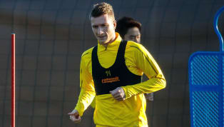 over Borussia Dortmund forward Marco Reus is in line to start his first match of the calendar year after overcoming a slight ligament strain which ruled him...