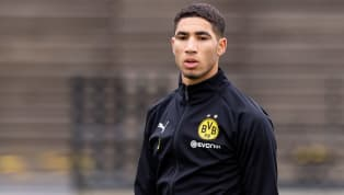 turn Borussia Dortmund full back Achraf Hakimi already feels at home at the Westfalenstadion and he hasn't given any thought to returning to parent club Real...