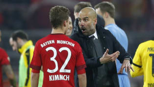 Bayern Munich defender ​Joshua Kimmich has talked up the idea of Pep Guardiola returning to the Allianz Arena after the Spaniard was linked with the vacant...
